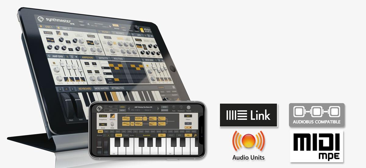 SYNTHMASTER ONE iOS ile Ses Tasarımı